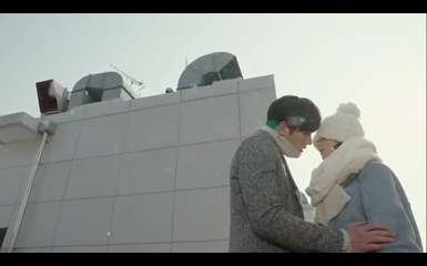 Healer Rooftop Kiss Episode 8