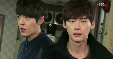 School 2013 - Lee Jong Suk and Kim Woo Bin