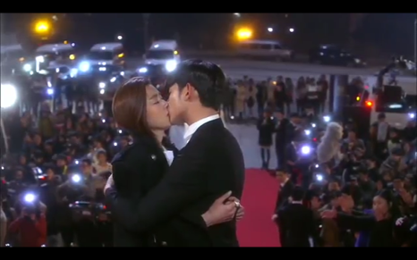 My Love from Another Star Korean Drama - Jeon Ji Hyeon and Kim Soo Hyun