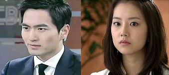 Goodbye Mr. Black Korean Drama - Lee Jin Wook and Moon Chae Won