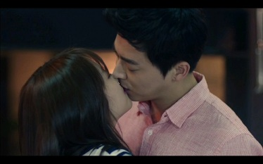Oh My Ghostess Korean Drama - Park Bo Young and Jo Jung Suk Kiss