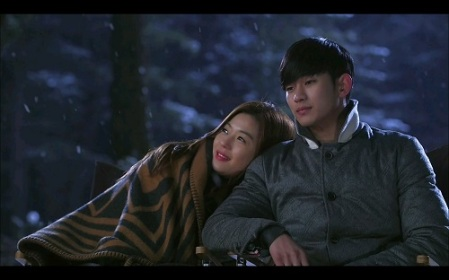 My Love from Another Star Korean Drama - Kim Soo Hyun and Jun Ji Hyun