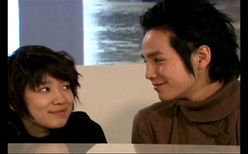 Park Shin Hye and Jang Geun Suk in You're Beautiful