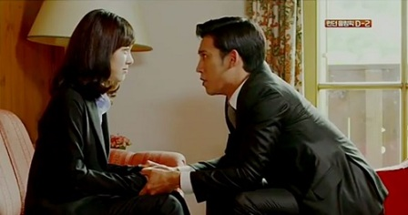 Bridal Mask Korean Drama - Park Ki Woong and Jin Se Yeon