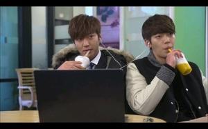 Heirs Korean Drama - Lee Min Ho and Kim Woo Bin