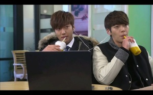 Heirs Korean Drama - Lee Min Ho and Kim Woo Bin