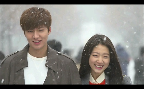 Heirs Korean Drama - Lee Min Ho and Park Shin Hye