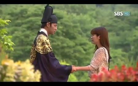 Rooftop Prince Korean Drama - Park Yoo Chun and Han Ji Min