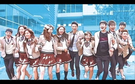 Sassy Go Go Korean Drama - Jung Eun Ji, Lee Won Geun, Ji Soo, Chae Soo Bin, and N 2