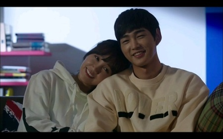 Sassy Go Go Korean Drama - Lee Won Geun and Jung Eun Ji