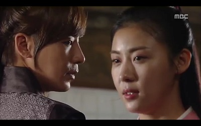 Empress Ki - Jin Yi Han and Ha Ji Won