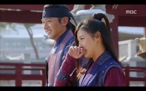Empress Ki - Joo Jin Mo and Ha Ji Won