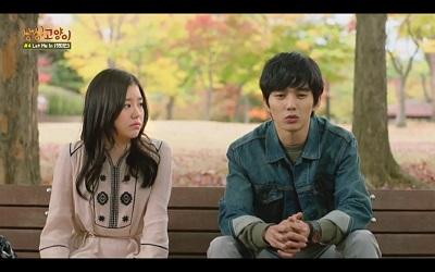 Imaginary Cat Korean Drama - Yoo Seung Ho and Cho Hye Jung