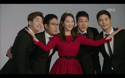 Oh My Venus Korean Drama - Shin Min Ah, So Ji Sub, Henry, and Sung Hoon