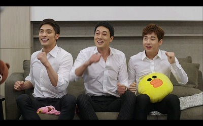 Oh My Venus Korean Drama - So Ji Sub, Henry, and Sung Hoon
