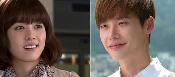W Korean Drama - Lee Jong Suk and Han Hyo Joo