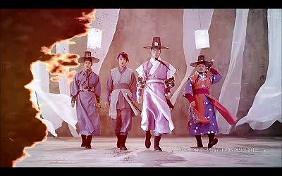 Three Musketeers Korean Drama - Jung Hae In, Jung Yong Hwa, Lee Jin Wook, and Yang Dong Geun