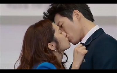 Fated to Love You Korean Drama - Jang Hyuk and Jang Na Ra Kiss