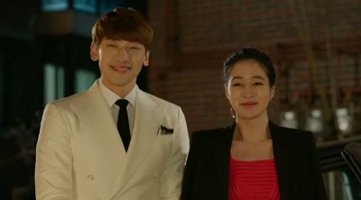 Come Back Ahjussi - Rain and Lee Min Jung