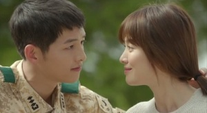 Descendants of the Sun Korean Drama - Song Joong Ki and Song Hye Kyo