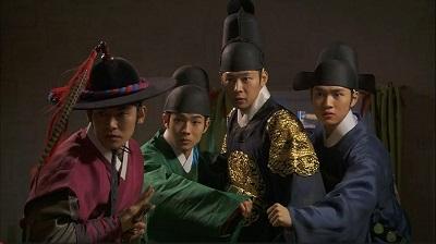 Rooftop Prince Korean Drama - Choi Woo Sik, Park Yoo Chun, Lee Min Ho