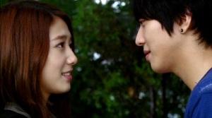 Heartstrings Korean Drama - Jung Yong Hwa and Park Shin Hye