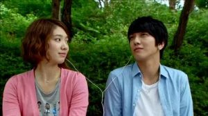 Heartstrings Korean Drama - Jung Yong Hwa and Park Shin Hye