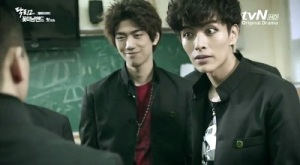 Shut Up Flower Boy Band Korean Drama - Sung Joon and Lee Min Ki