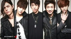 Shut Up Flower Boy Band Korean Drama - Sung Joon, Kim Min Suk, L, Lee Hyun Jae, and Yoo Min Kyu