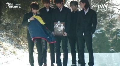 Shut Up Flower Boy Band Korean Drama - Sung Joon, Kim Min Suk, L, Lee Hyun Jae, and Yoo Min Kyu