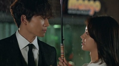 Entertainer Korean Drama - Ji Sung and Hyeri