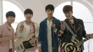 Entertainer Korean Drama - Kang Min Hyuk, Gong Myung, Lee Tae Sun, and L.Joe
