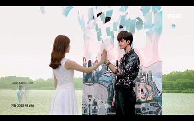 W Two Worlds Korean Drama - Lee Jong Suk and Han Hyo Joo