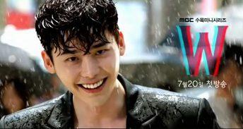 W - Two Worlds Korean Drama - Lee Jong Suk