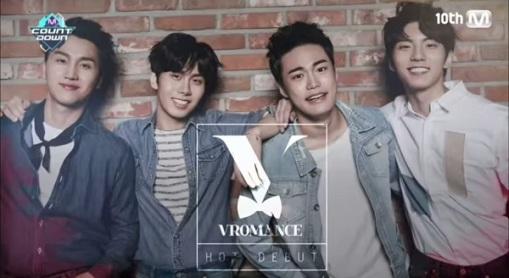 Vromance Kpop Boy Band - Jang Hyun, Hyun Suk, Hyun Kyu, and Chan Dong