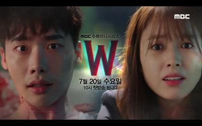 W Two Worlds Korean Drama - Lee Jong Suk and Han Hyo Joo 3