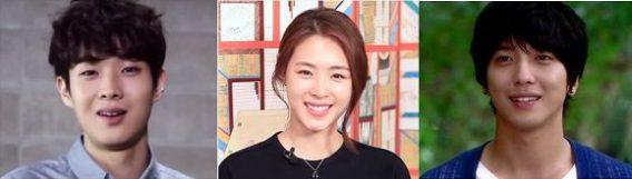 Choi Woo Shik, Lee Yeon Hee, Jung Yong Hwa