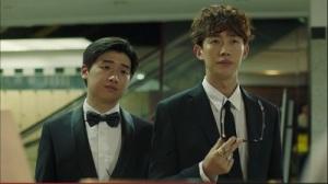 Let's Fight Ghost Korean Drama - Lee David and Kang Ki Young