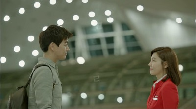 On the Way to the Airport Korean Drama - Lee Sang Yoon and Kim Ha Neul 2