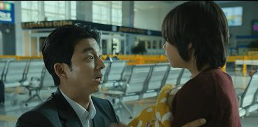 Train to Busan Korean Movie - Gong Yoo and Kim Soo An