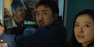 Train to Busan Korean Movie - Jung Yu Mi and Ma Dong Suk