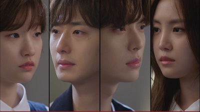 Cinderella and the Four Knights Korean Drama - Jung Il Woo, Ahn Jae Hyun, Park So Dam, and Son Na Eun
