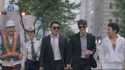 Police Unit 38 Korean Drama - Ma Dong Suk, Seo In Guk, Heo Jae Ho, Go Hyu Pil