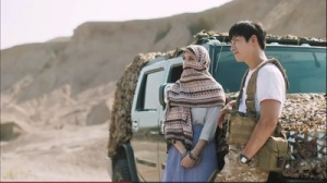 The K2 Korean Drama - Ji Chang Wook and Carson Allen