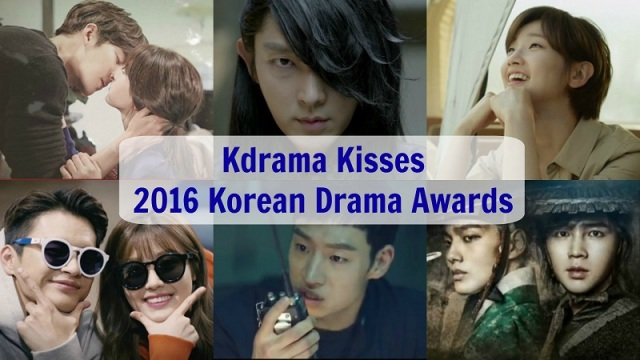 Kdrama Kisses 2016 Korean Drama Awards - Kim Woo Bin, Suzy, Lee Joon Gi, Park So Dam, Seo In Guk, Nam Ji Hyun, Lee Je Hoon, Yeo Jin Goo, Jang Geun Suk