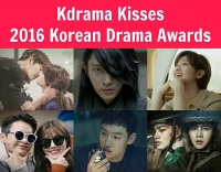 Kdrama Kisses 2016 Korean Drama Awards