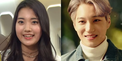 Andante Korean Drama - EXO's Kai and Jung Da Bin