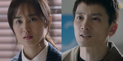 Defendant Korean Drama - Ji Sung and Yuri