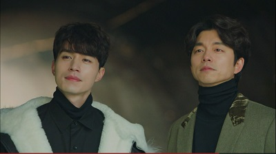 Goblin: The Lonely and Great God Korean Drama - Gong Yoo and Lee Dong Wook