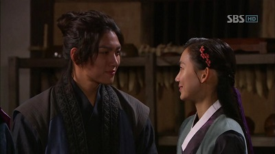 Warrior Baek Dong Soo Korean Drama - Ji Chang Wook and Shin Hyun Bin